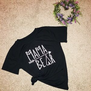 Tops - Black Mama Bear Tee